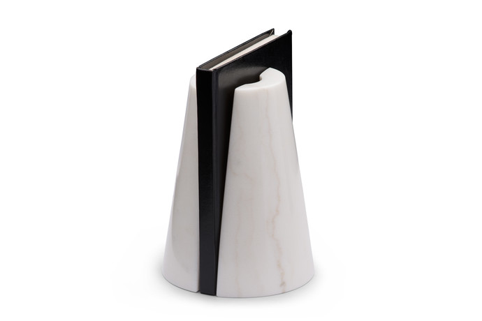 Monumental Bookends White Book End By Atelier Ds