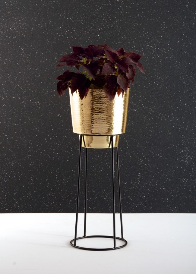 Planter - tall Garden Decor By Atelier DS