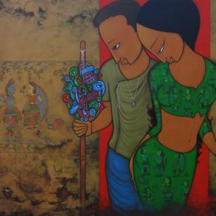 STREET ART Digital Print by Hitendra Singh Bhati,Expressionism