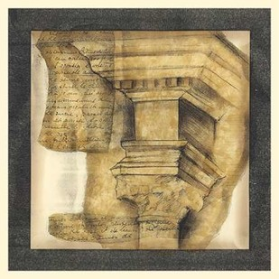 Antique Capitals IV Digital Print by Goldberger, Jennifer,Geometrical