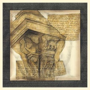 Antique Capitals I Digital Print by Goldberger, Jennifer,Decorative
