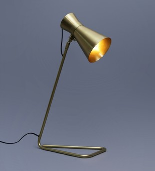 The Brighter Side Oria golden table lamp Table Lamp By The Brighter Side