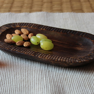 oval platter Platter By TARU