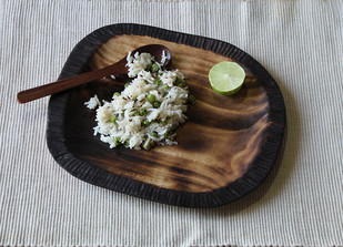 Round platter Platter and Plate By TARU