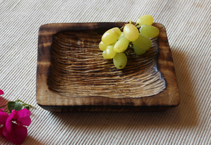 square platter Platter and Plate By TARU