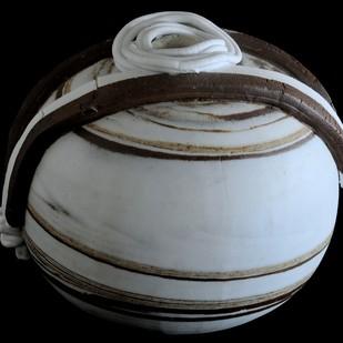 DESERT WINDS by Usha Garodia, Art Deco Sculpture   3D, Ceramic, Gray color