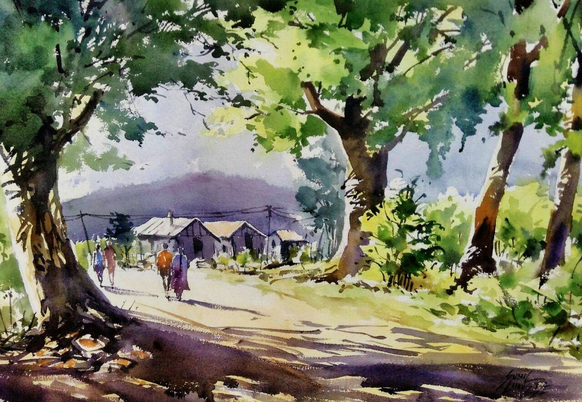 Agriculture Art Paintings