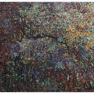 Aditi chakravarty  painting   acrylic on canvas %284%29 85x115 cm  2010
