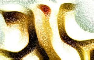 Shree Ganesh by A S Pithadia, Digital Digital Art, Digital Print on Canvas, Beige color