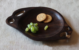 Puddle platter small Platter By TARU