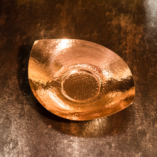 Courtyard Jaipuri Pure Copper Platter Large Kitchen Ware By COURTYARD