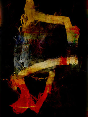 life by Gopal Mehan, Abstract Painting, Mixed Media on Canvas, Black color