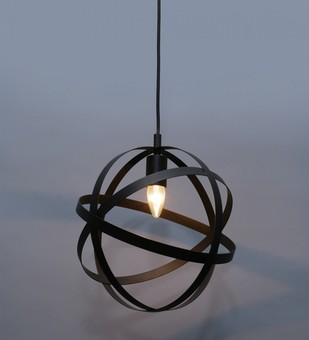 The Brighter Side Metal ring industrial pendant light Ceiling Lamp By The Brighter Side