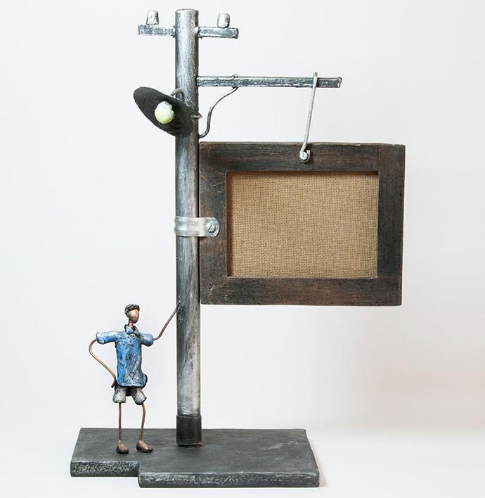 Streetlight Table Photoframe Photo Frame By THE ART SPA