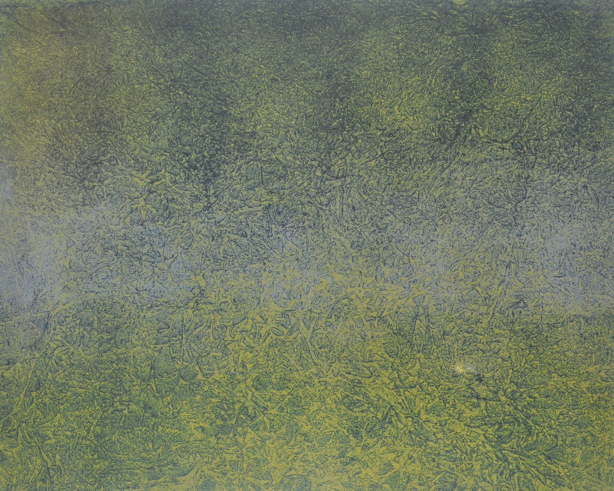 lansdcape by Mohd Naseem khan, Abstract Painting, Acrylic on Canvas, Green color