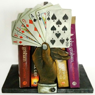 Cards Bookend Book End By THE ART SPA