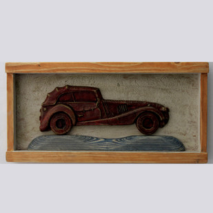 vintage car Wall Decor By Aranya Earthcraft