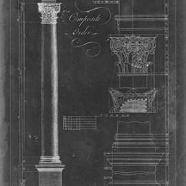 Corinthian order blueprint by artist chippendale thomas composite order blueprint malvernweather Image collections
