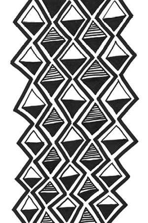 Mud Cloth Study IV Digital Print by Stramel, Renee W.,Decorative