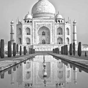Taj Mahal II Digital Print by Miamee, Golie,Illustration