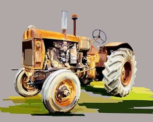 Vintage Tractor IV Digital Print by Kalina, Emily,Decorative