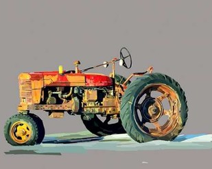 Vintage Tractor III Digital Print by Kalina, Emily,Decorative