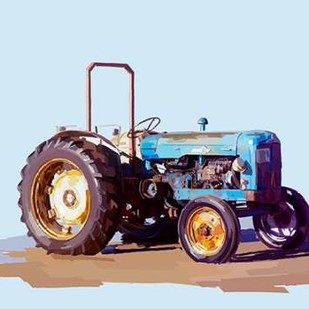 Vintage Tractor I Digital Print by Kalina, Emily,Decorative