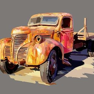 Powerful Truck II Digital Print by Kalina, Emily,Decorative