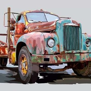 Powerful Truck I Digital Print by Kalina, Emily,Decorative