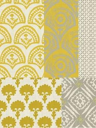Marigold Patterns II Digital Print by Zarris, Chariklia,Decorative