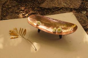 Palm Platter Platter By Studio Coppre