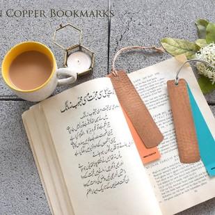 Beaten Copper Bookmarks (Set of 2) Accessories By Studio Coppre