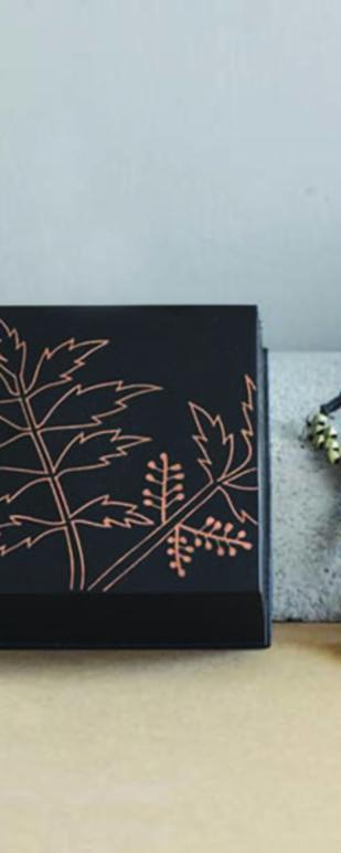 Bidri Miniature Box - Neem Decorative Box By Studio Coppre