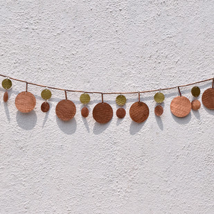 Infinity Bunting Wall Decor By Studio Coppre