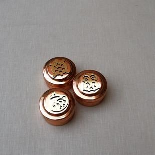 Indus Fauna Miniature Box Set Decorative Box By Studio Coppre