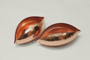 Copper Pod Small T-Light and Votive Holder By Studio Coppre