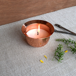 Earthlore Tea light T-Light and Votive Holder By Studio Coppre