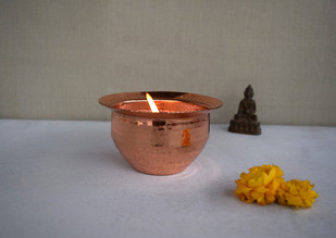 Folklore Tea light T-Light and Votive Holder By Studio Coppre