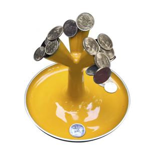 Money Plant- Yellow Artifact By Studio ABD