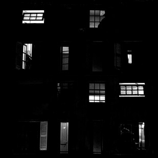 Windows 3 by Subhajit Dutta, Image Photography, Digital Print on Paper, Black color