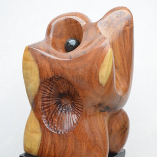Growth by Gurmeet Goldie, Art Deco Sculpture | 3D, Wood, Brown color