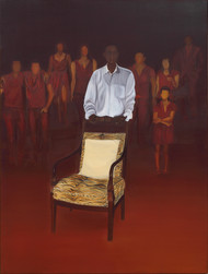 Who gets the chair..(2) Digital Print by Nivedita Pande,Expressionism