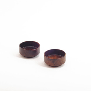 Ulm Bowls 2 - Small - Set of 2 Serveware By Atelier DS