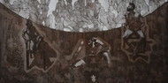 catharsis - expulsion of addiction by Tarun Sharma, Abstract Printmaking, Etching and Aquatint, Brown color
