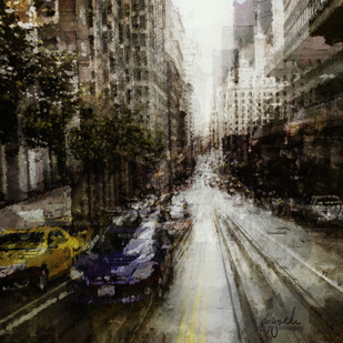 San Francisco # 3 by Ajay Goel, Digital Photography, Digital Print on Archival Paper, Brown color