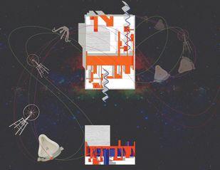 THE ART GALLERY THAT STOPPED VALLERY by Swati Jain, Digital Digital Art, Digital Print on Paper, Gray color