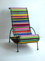 Pelican Chair - Tropical Multicolor Furniture By Sahil & Sarthak