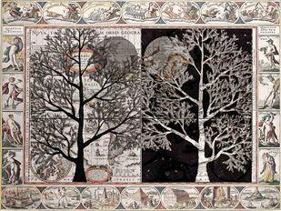 Bulvarit by Sumit Mehndiratta, Expressionism Digital Art, Digital Print on Canvas, Brown color