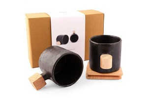Dot Square Mugset Table Ware By Objectry