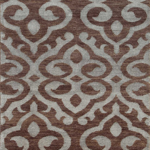 5X8 Hand Knotted Modern Wool & Viscose Rug Carpet and Rug By Jaipur Rugs